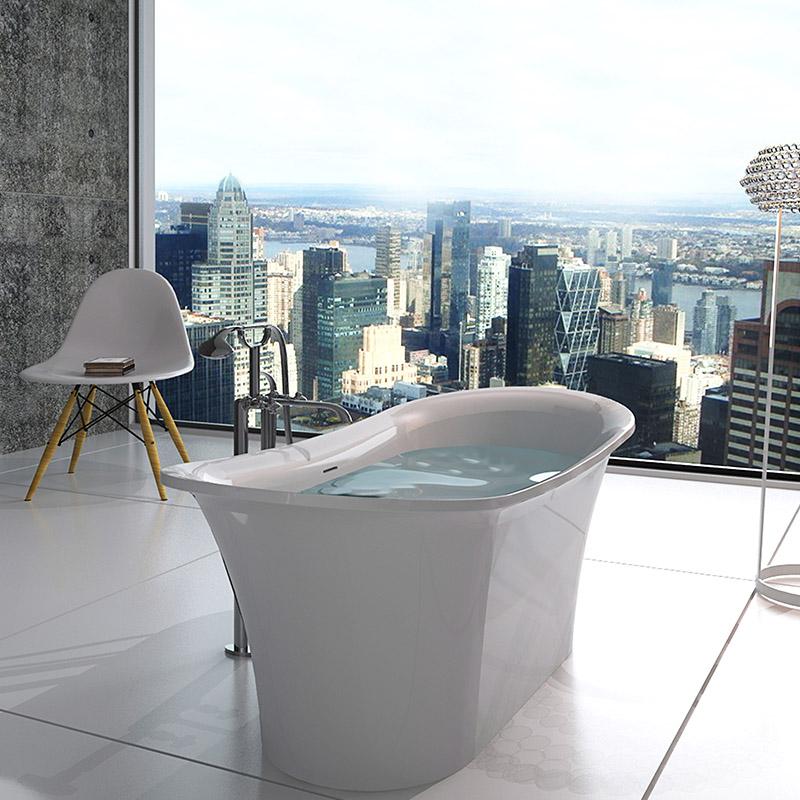 Bellissimo-Professional Free Standing Bathtub Best Freestanding Tubs Supplier