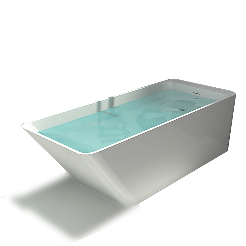 Bellissimo-Best Solid Surface Tub Solid Surface Resin Stone Bathtub Bs-8634 Manufacture-1